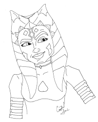 9 images of star wars ahsoka coloring pages ahsoka tano star