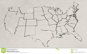 United States Map by Pencil Sketch Of The United States Map Animation Stock Footage