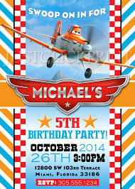 planes dusty airplane birthday party invitation printable just