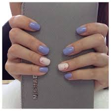 gel polish mood color change gel polish on ring fingers with