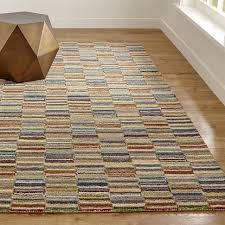 Pottery Barn Bosworth Rug by Bix Striped Wool Rug Wool Rug Crates And Barrels