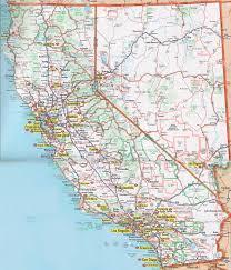 California Maps Nevada And California Map California Map