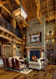 Lodge Living Room Decor by Nagi Tanka Lodge