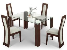 Glass Rectangle Dining Table Dining Room Rectangle Glass Target Dining Table With Brown Wooden