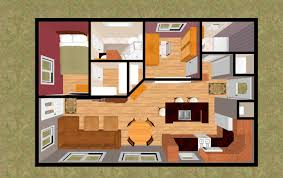 2 bedroom house plans 500 square feet