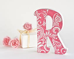 Metal Decorative Letters Home Decor Letter Gifts Letter Art Wedding Letterwooden Letters For