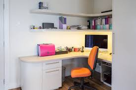 Simple Home Office by Home Office Office Cabinets White Office Design Small Space