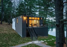 inspirations small prefab cabins pre fab tiny house