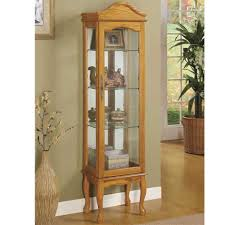 Oak Curio Cabinet Furniture 20 Images How To Make Your Own Curio Cabinets Cheap