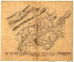 Roanoke Virginia Map by County Virginia