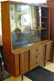 mid century modern dining room hutch at top china cabinet on by