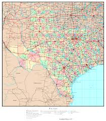 Texas Map Outline Texas Free Map
