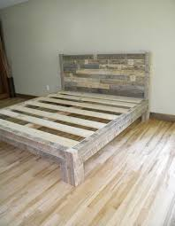 How To Build A Queen Platform Bed Frame by The 25 Best Diy Bed Frame Ideas On Pinterest Pallet Platform