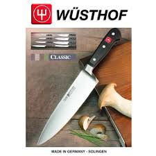 wüsthof classic salami knife 16 cm chef u0027s knife
