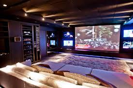 movie theater home tapetes kyowa sala de cinema home theater projector