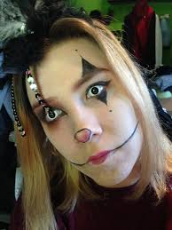 white contact lenses halloween creepy clown halloween makeup madab0utmakeup