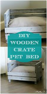Instructions On How To Make A Toy Chest by How To Make A Diy Pet Bed Wooden Crates Pet Beds And Crates