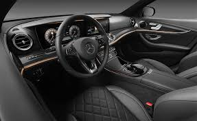 2017 mercedes benz e class interior officially unveiled will