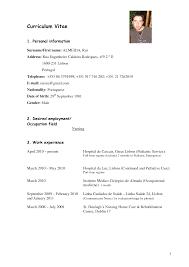comprehensive resume sample for nurses 9 best images of nursing curriculum vitae sample format sample nurse curriculum vitae sample