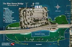 Map Of Jupiter Florida Blue Heron Bridge Scuba The Best Shore Diving In The Americas