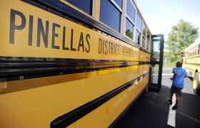 Good beginning      for St  Pete     s Melrose Elementary   TBO com TBO com Students at Azalea Middle School hurry to catch the bus headed home after their first day