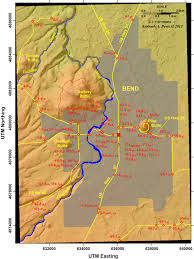 Newport Oregon Map by Shevlin Park And Evidence For Cataclysmic Volcanism Near Bend