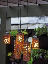 Outdoor Lighting Fixtures For Gazebos by Set The Mood With Outdoor Lighting Hgtv
