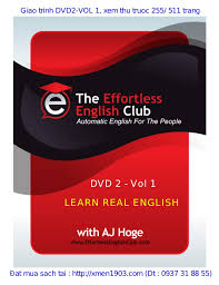 DVD   VOL    LEARN REAL ENGLISH  Sach xem truoc  PDF  VanLuong BlogSp    SlideShare