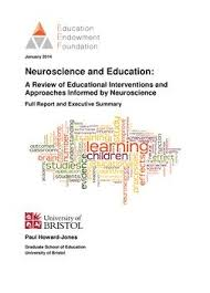 Literature Reviews   Education Endowment Foundation   EEF Neuroscience and Education Literature Review