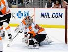 Black and Gold: FLYERS goalie plays foil again