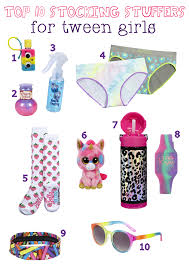 top 10 holiday stocking stuffers for tween girls our holly days