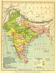 Ancient India Map by Gazetteer And Maps