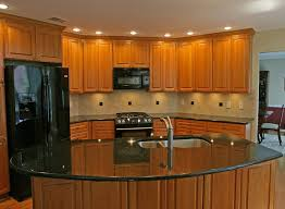 Kitchen Backsplash Cherry Cabinets by Kitchen Backsplash Cherry Cabinets Black Counter Kitchen Crafters