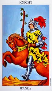 Knight of Wands Tarot Card Meanings | Biddy Tarot
