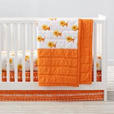 Monkey Crib Set Wild Excursion Lion Crib Bedding The Land Of Nod
