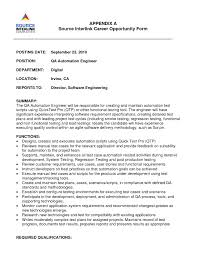 Best Resume Format For Quality Assurance by Car Test Engineer Sample Resume Same Cover Letters Free Invitation