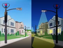 Cobra Head Light Fixtures by Ecoenergy Solar Tower For Street Lighting