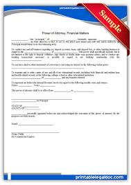 Power Of Attorney Pdf Form by Free Printable Power Of Attorney General Legal Forms Free Legal