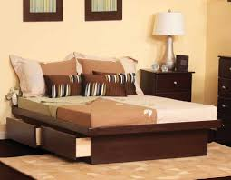 King Platform Bed Plans With Drawers by Perfectly California King Bed Frame With Storage Modern King