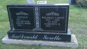 grave site of donald macdonald 1912 billiongraves
