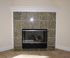 granite tile fireplace surround fireplace pinterest tiled