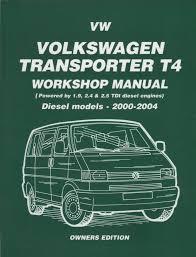 volkswagen vw transporter t4 diesel 2000 2004 service repair