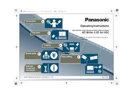 download free pdf for panasonic hdc dx1 camcorders manual