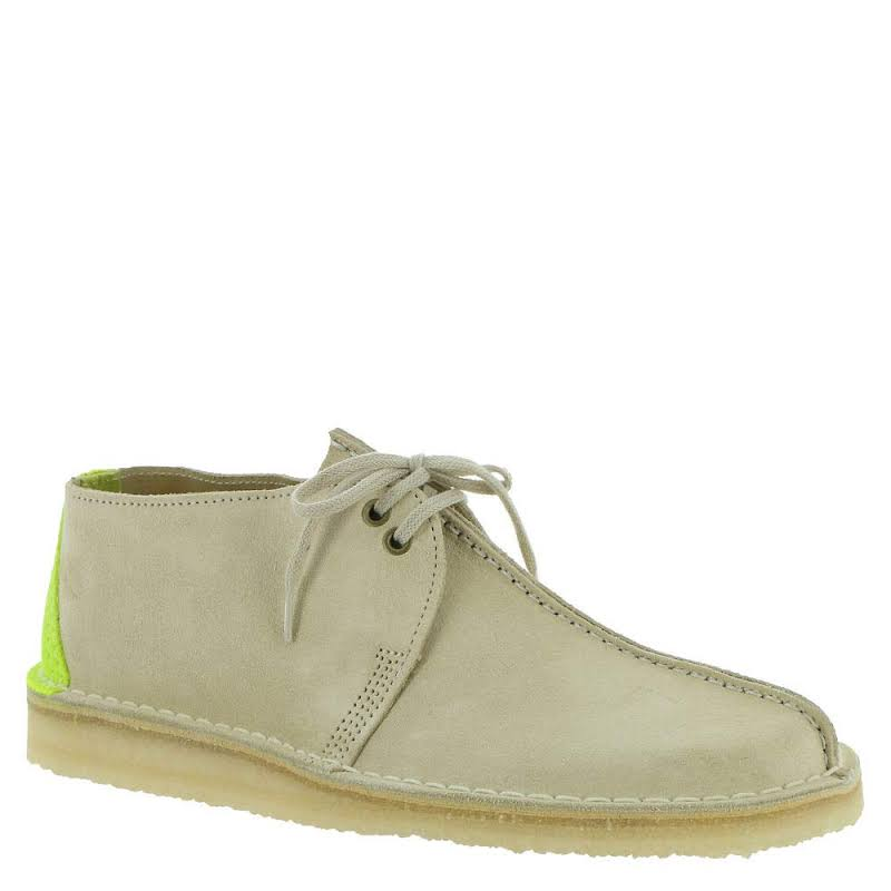 Clarks Desert Trek 26148603 Gray Suede Casual Lace Up Oxfords Shoes