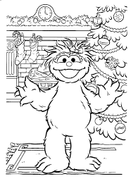 printable coloring pages sesame street