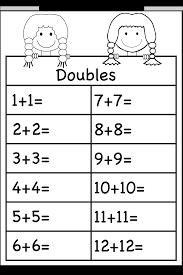 Decimal Addition Worksheets Addition Doubles U2013 1 Worksheet Free Printable Worksheets