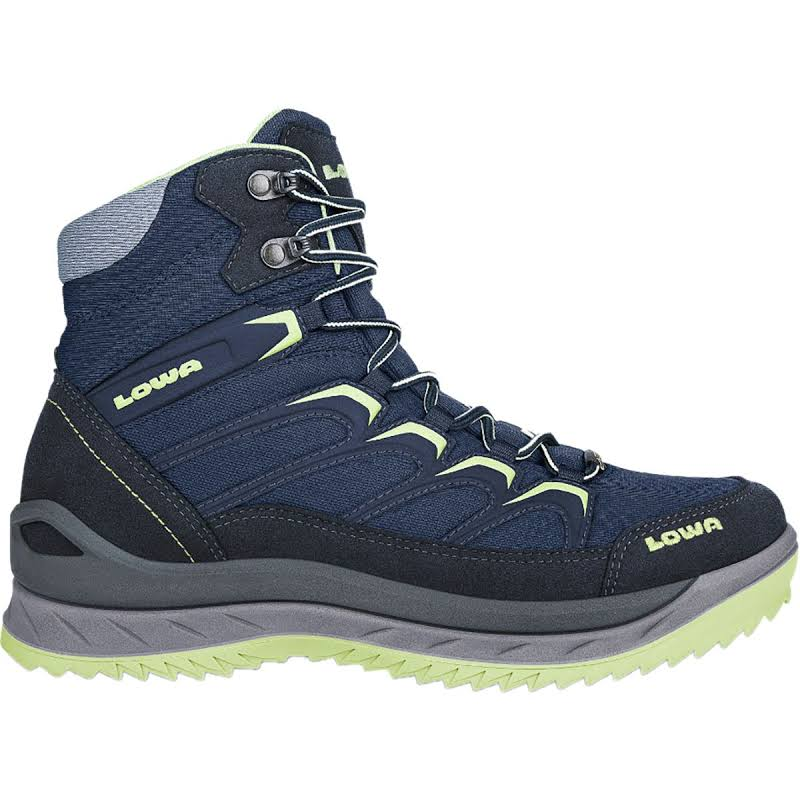 Lowa Innox Ice GTX Mid Winter Hiking Boot Navy/Mint 7 Medium 4206026908-NAVMNT-M070