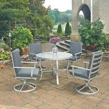 Martha Stewart 7 Piece Patio Dining Set - martha stewart living lake adela weathered grey 7 piece patio