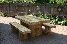 modest design rustic outdoor dining table astounding 1000 ideas