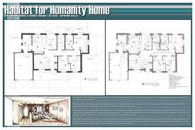 habitat for humanity 3 bedroom house floor plans simple single story